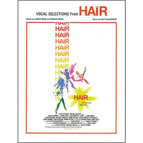 Alfred Hair Vocal Selections Piano/Vocal/Chords-thumbnail