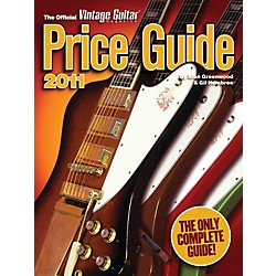 Hal Leonard 2011 Official Vintage Guitar Price Guide (333075)