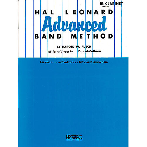 Hal Leonard Hal Leonard Advanced Band Method (Oboe) Advanced Band Method Series Composed by Harold W. Rusch