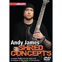 Hal Leonard Andy James Shred Concepts DVD Lick Library