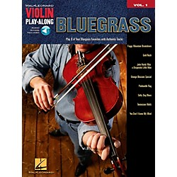 Hal Leonard Bluegrass Violin Play-Along Volume 1 Book/CD