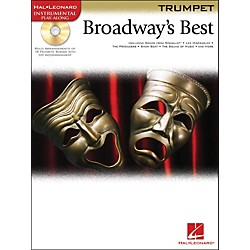 Hal Leonard Broadway's Best For Trumpet Book/CD (841978)