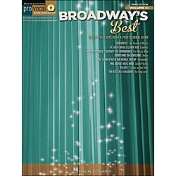 Hal Leonard Broadway's Best Pro Vocal Songbook & CD For Male Singers Volume 51 (740412)