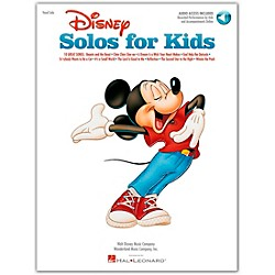 Hal Leonard Disney Solos For Kids Book/CD (740197)