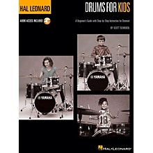 Hal Leonard Hal Leonard Drums for Kids - A Beginner's Guide with Step-by-Step Instruction for Drumset Book/Audio Online