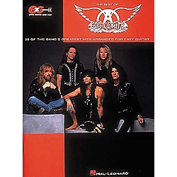 Hal Leonard Easy Guitar - Best Of Aerosmith Guitar Tab Book (702001)