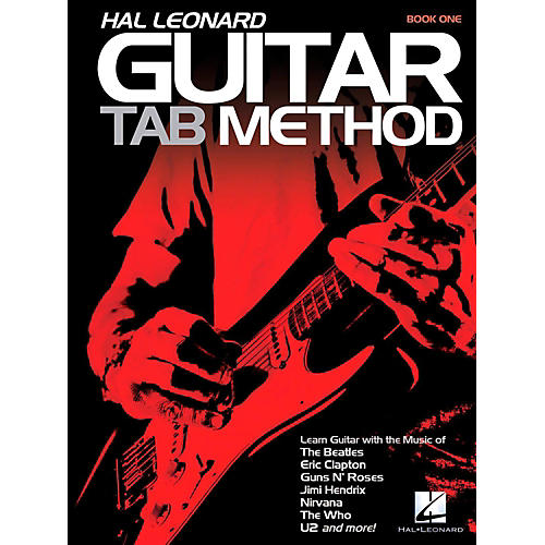 Hal Leonard Hal Leonard Guitar Tab Method Book 1 (Book Only)-thumbnail