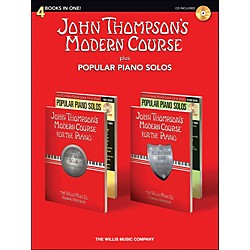 Hal Leonard John Thompson's Modern Course plus Popular Piano Solos Book/CD