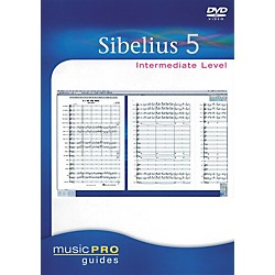 Hal Leonard Sibelius 5 Intermediate - Music Pro Series (DVD) (332763)