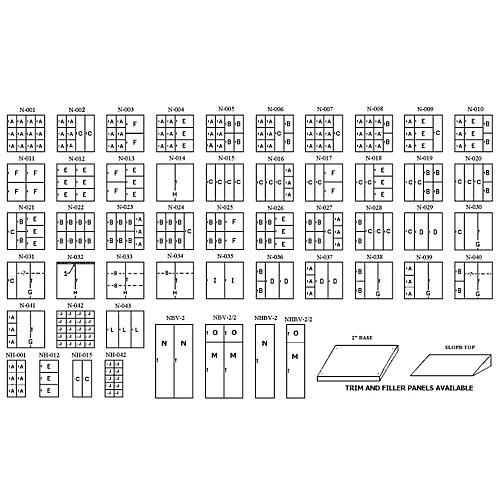 Norren Half Unit Large Instrument Storage Cabinet-thumbnail
