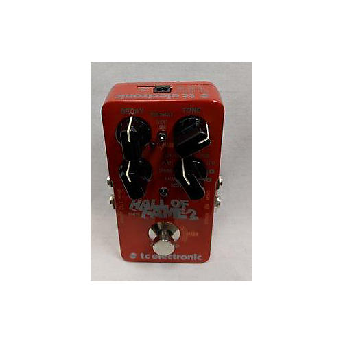 used tc helicon hall of fame 2 effect pedal guitar center. Black Bedroom Furniture Sets. Home Design Ideas