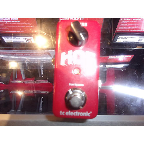 TC Electronic Hall Of Fame Mini Reverb Effect Pedal-thumbnail