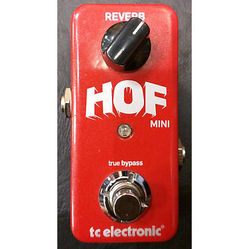 TC Electronic Hall Of Fame Mini Reverb Effect Pedal