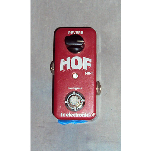 TC Electronic Hall Of Fame Mini Reverb Effect Pedal-thumbnail