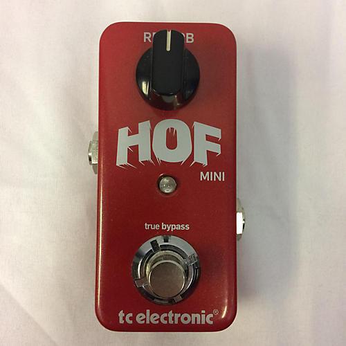 Hall Of Fame Mini Reverb : used tc electronic hall of fame mini reverb effect pedal guitar center ~ Hamham.info Haus und Dekorationen