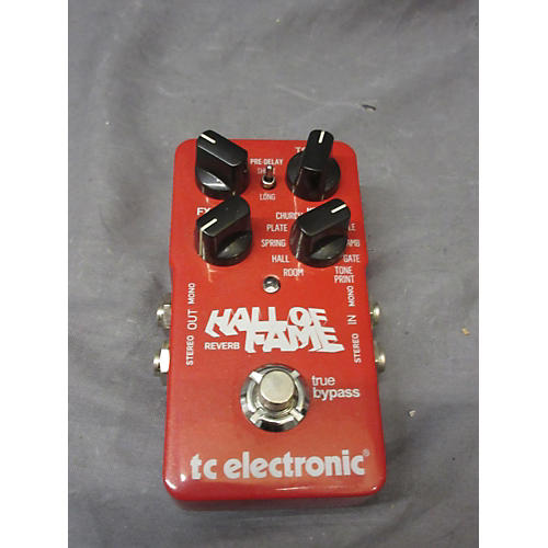 TC Electronic Hall Of Fame Reverb Effect Pedal-thumbnail