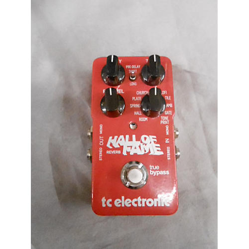 TC Electronic Hall Of Fame Reverb Red Effect Pedal