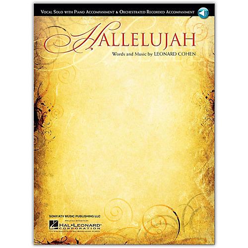 Hal Leonard Hallelujah - Vocal Solo Book/Online Audio