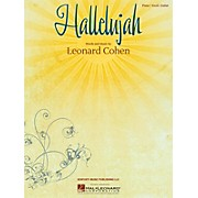 Hallelujah by Leonard Cohen arranged for piano, vocal and guitar
