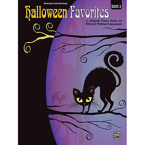 Alfred Halloween Favorites, Book 2 Elementary / Late Elementary-thumbnail