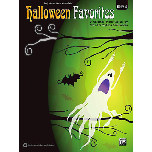 Alfred Halloween Favorites, Book 4 Early Intermediate / Intermediate