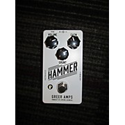 Greer Amplification Hammer Distortion/Fuzz Effect Pedal
