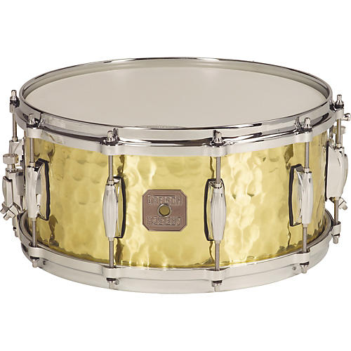 Gretsch Drums Hammered Brass Snare Drum Brass 5x14