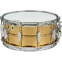 Ludwig Hammered Bronze Snare Drum Level 1  6.5x14