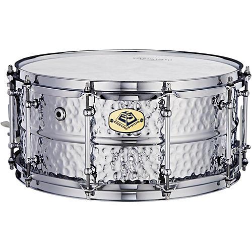 Eccentric Systems Design Hammered Chrome Steel Snare Drum