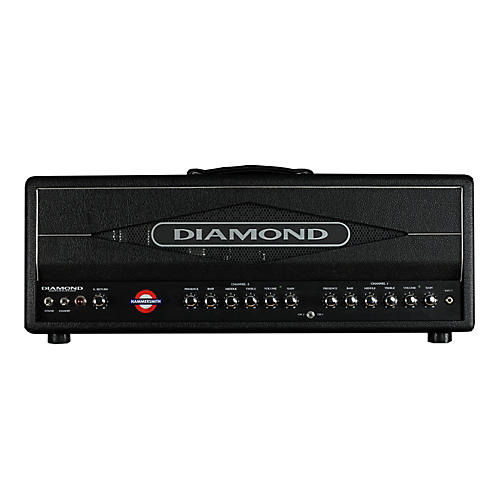 Diamond Amplification Hammersmith USA Custom Series 100W Vintage / Modern Tube Guitar Amp Head Black