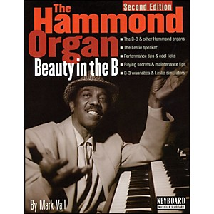 Backbeat Books Hammond Organ - Beauty in The B - 2nd Edition Softcover by Backbeat Books