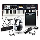Hammond SK1 Organ with Keyboard Amplifier, Stand, Headphones, Bench, and Sustain Pedal (SK1AMPSTAND PKG)