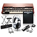 Hammond XK-3c Drawbar Organ with Keyboard Amplifier, Stand, Headphones, Bench, and Sustain Pedal (XK3CAMPSTAND PKG)