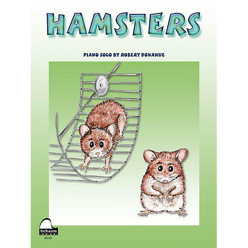 SCHAUM Hamsters Educational Piano Series Softcover