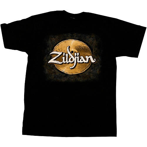 Zildjian Hand-Drawn Cymbal T-Shirt Black Medium