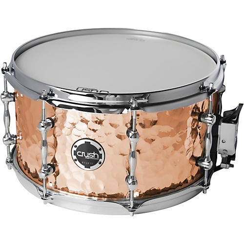 Crush Drums & Percussion Hand Hammered Copper Snare Drum-thumbnail