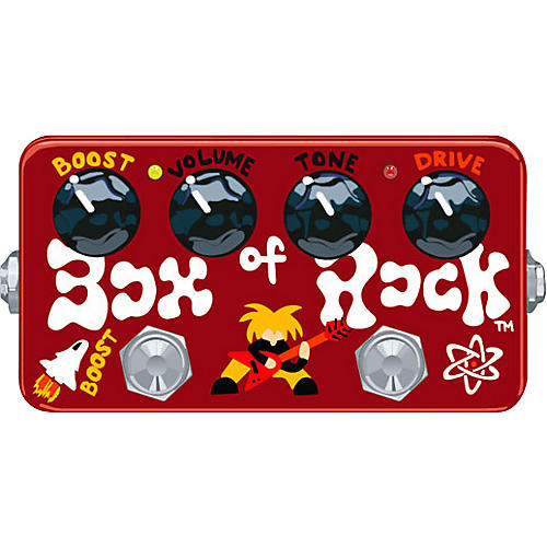 Zvex Hand-Painted Box of Rock Disortion Guitar Effects Pedal-thumbnail