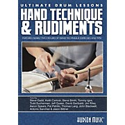 Hudson Music Hand Technique & Rudiments- Ultimate Drum Lessons Series DVD