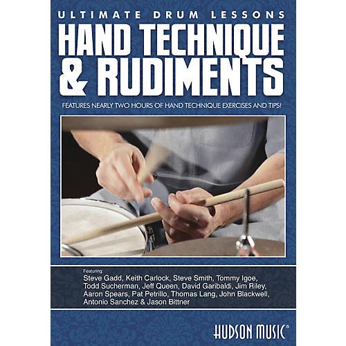 Hudson Music Hand Technique & Rudiments- Ultimate Drum Lessons Series DVD-thumbnail