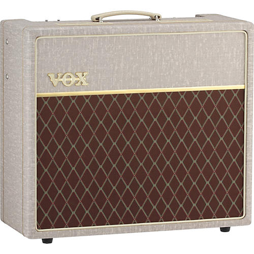 Vox Hand-Wired AC15HW1 15W 1x12 Tube Guitar Combo Amp Fawn  UsedGrade1-thumbnail
