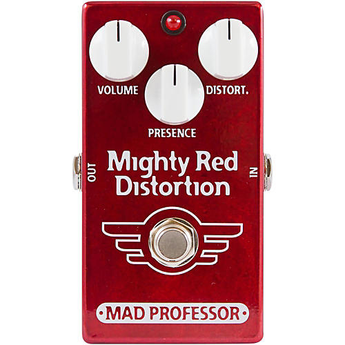 Mad Professor Hand Wired Mighty Red Distortion Guitar Effects Pedal