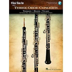 Hal Leonard Handel Telemann Vivaldi Oboe Concertos by Hal Leonard