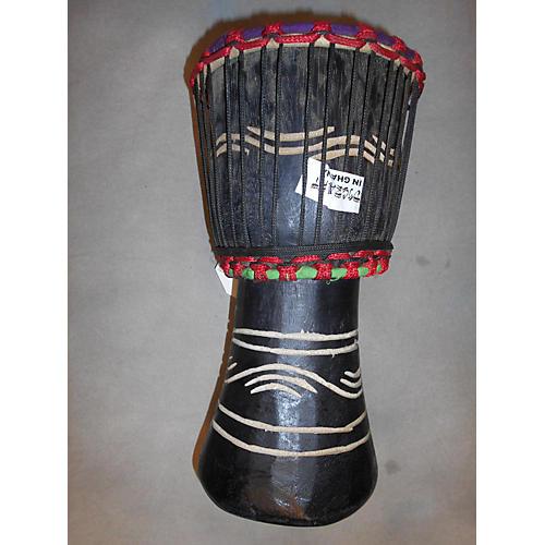 Swart Handmade Black Waves Djembe
