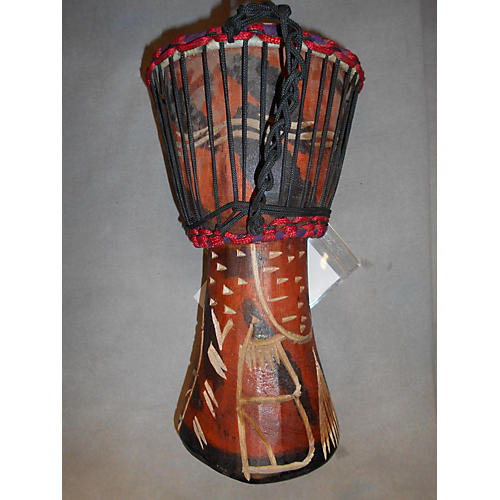 Swart Handmade Orange Tree Djembe