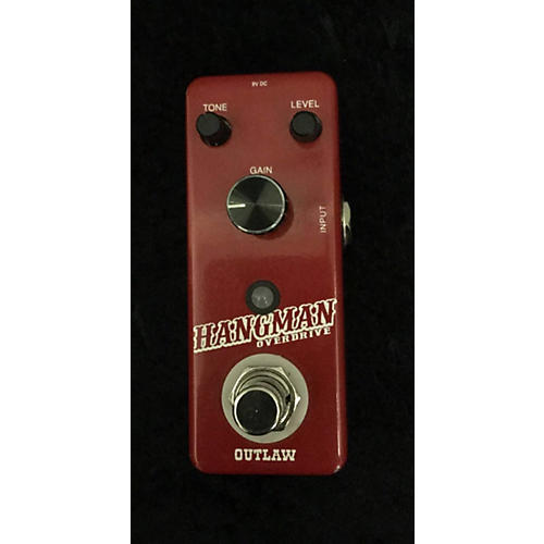 Outlaw Effects Hangman Overdrive Effect Pedal-thumbnail