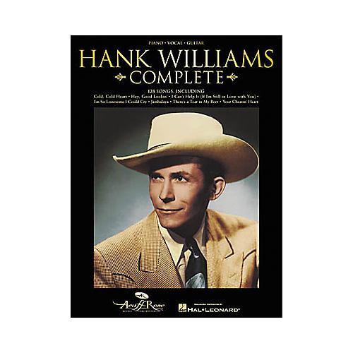 Hal Leonard Hank Williams Complete Songbook