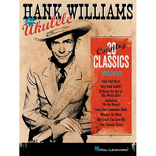 Hal Leonard Hank Williams For Ukulele