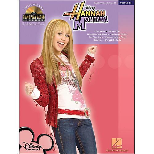 Hal Leonard Hannah Montana - Piano Play-Along Volume 66 (CD/Pkg) arranged for piano, vocal, and guitar (P/V/G)-thumbnail