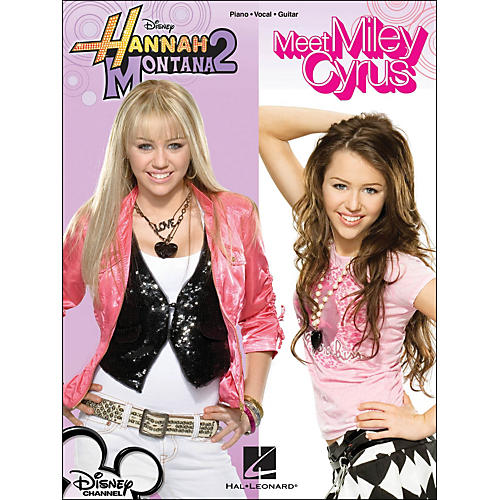 Hal Leonard Hannah Montana 2 - Meet Miley Cyrus Disney Channel arranged for piano, vocal, and guitar (P/V/G)-thumbnail