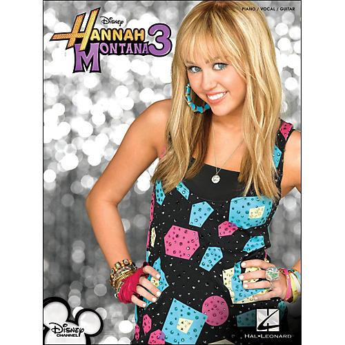 Hal Leonard Hannah Montana 3 arranged for piano, vocal, and guitar (P/V/G)-thumbnail